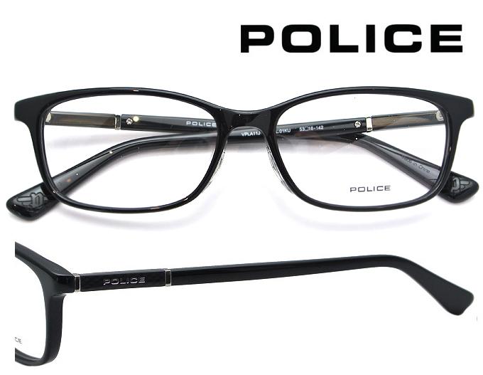 ★2019年春夏モデル★ POLICE (ポリス) メガネフレーム 53サイズ VPLA11J 01KU