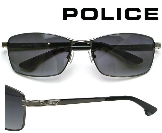【送料無料】 2020年モデル POLICE サングラス SPLA60J 568 ガンメタル レンズ:グレーグラデーション