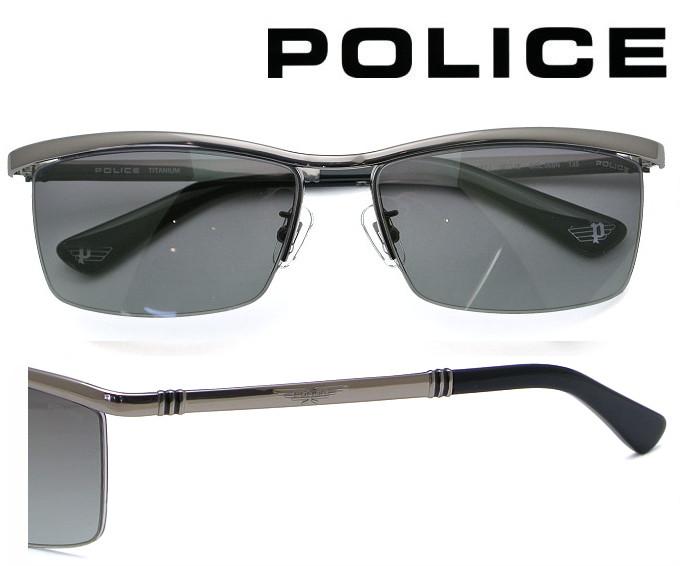 【送料無料】 2020年モデル POLICE サングラス SPLA62J 568N ガンメタル レンズ:グレーグラデーション