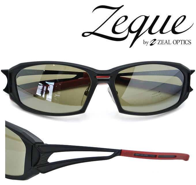 ZEAL サングラス Vanq X(ヴァンク エックス)F-1760 マットブラック 偏光レンズ TALEX (タレックス) トゥルービュースポーツ/シルバーミラー 【送料無料】