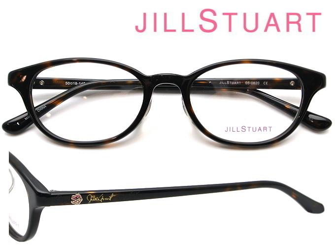 JILL STUART (ジルスチュアート) メガネフレーム 50サイズ 05-0820 01 デミブラウン