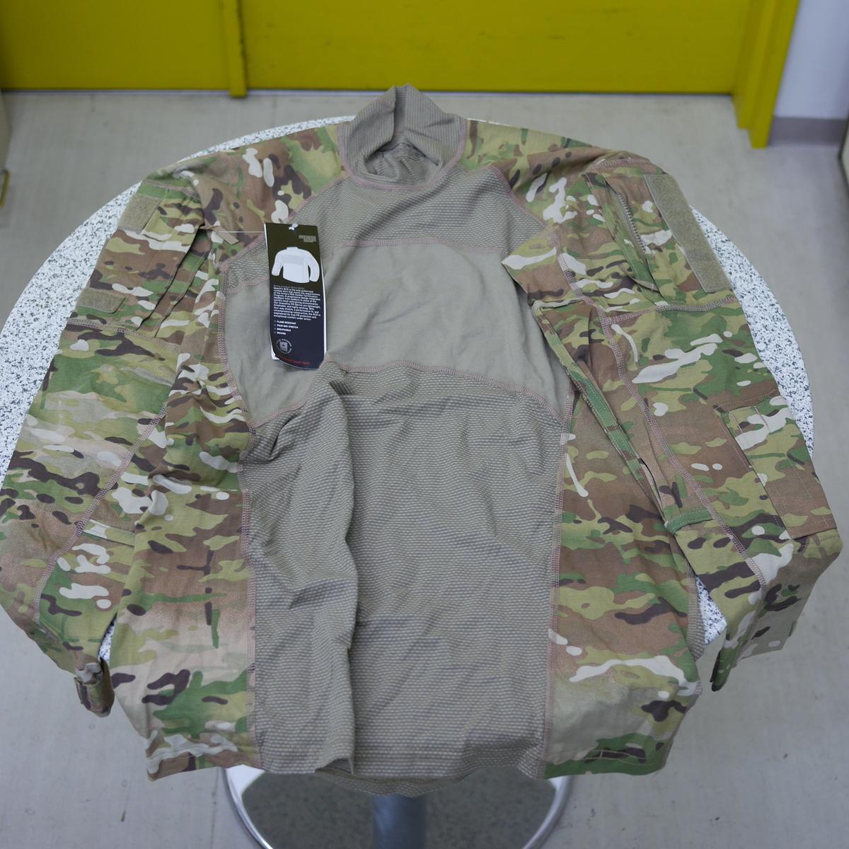 米軍 実物 新品 マルチカム コンバット シャツ MASSIF [サイズ M]【売れ筋】【当店オススメ】