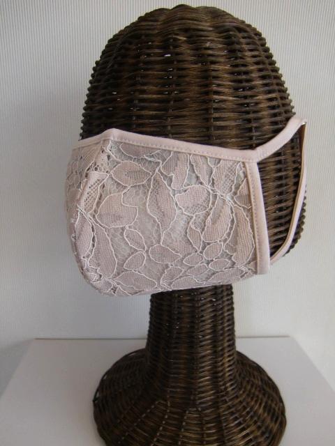 PUPULA ププラレース マスク《ネコポス220》 ププラLEAF LACEレース マスク 701025レディース ドレス 可愛いコットン 高級 洗える 上品 オシャレ 新色追加 高品質 日本製《ネコポス220》