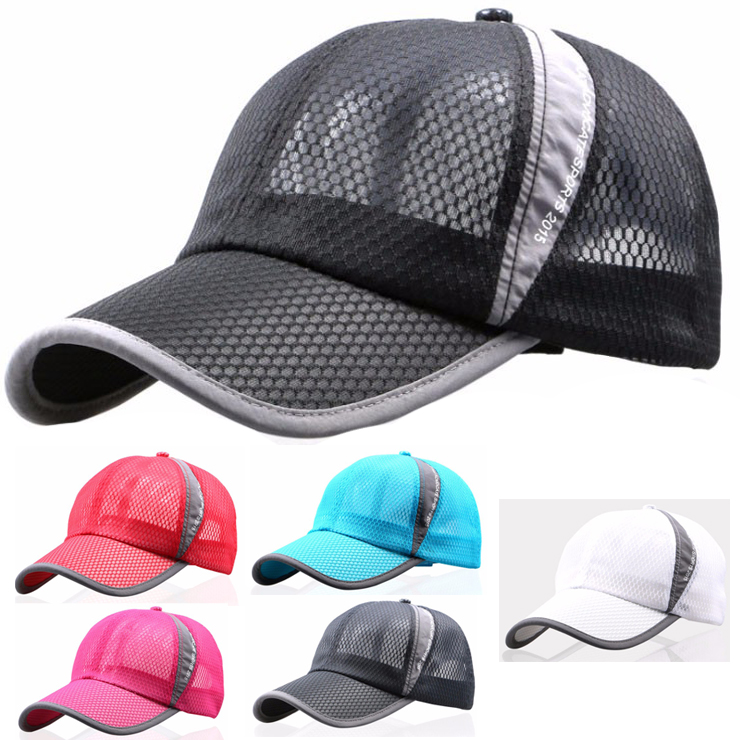 Mesh running Cap lightweight hat drying breathable ladies Cap mens Cap Cod  has added shipping and 532P17Sep16 2428fb392db