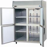 パナソニック(旧サンヨー)インバータータテ型冷蔵庫型式:SRR-K1581寸法:幅1460mm 奥行800mm 高さ1950mm送料:無料 (メーカーより)直送保証:メーカー保証付
