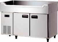 ダイワ・大和舟形シンク付冷蔵庫型式:4461CDSF寸法:幅1200mm 奥行600mm 高さ850mm送料:無料 (メーカーより)直送保証:メーカー保証付