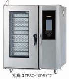 タニコーデラックススチームコンベクションオーブン(電気式)型式:TESC-10D(R,L)(旧TSCO-10EDN)寸法:幅950mm 奥行750mm 高さ1100mm送料:無料 (メーカーより)直送保証:メーカー保証付