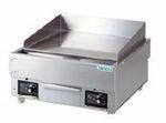 タニコー電気グリドル/サーモスタット付型式:TCG-6060EN寸法:幅600mm 奥行600mm 高さ300mm送料:無料 (メーカーより)直送保証:メーカー保証付