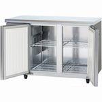 パナソニック(旧サンヨー)ヨコ型インバーター冷蔵庫型式:SUR-K1271A寸法:幅1200mm 奥行750mm 高さ800mm送料:無料 (メーカーより)直送保証:メーカー保証付