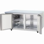パナソニック(旧サンヨー)ヨコ型インバーター冷蔵庫型式:SUR-K1571A寸法:幅1500mm 奥行750mm 高さ800mm送料:無料 (メーカーより)直送保証:メーカー保証付