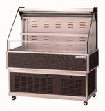 オオホ・大穂対面オープンショーケース型式:OHF-ACa-1200(旧OHF-AC-1200)寸法:幅1200mm 奥行650mm 高さ1100mm送料:無料 (メーカーより)直送保証:メーカー保証付