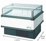 フクシマガリレイ冷凍冷蔵平型ショーケース≪インバーター制御≫型式:IMC-45QWFTAX寸法:幅1071+[64.5×2]mm 奥行900mm 高さ850mm送料:無料 (メーカーより直送)保証:メーカー保証付受注生産品