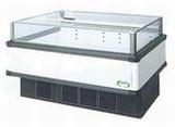 フクシマガリレイ冷凍冷蔵平型ショーケース≪インバーター制御≫型式:IMC-55QWFTAX寸法:幅1371+[64.5×2]mm 奥行900mm 高さ850mm送料:無料 (メーカーより直送)保証:メーカー保証付受注生産品