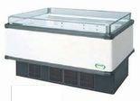 フクシマガリレイ冷凍冷蔵平型ショーケース≪インバーター制御≫型式:IMC-55QGFTAX寸法:幅1371+[64.5×2]mm 奥行900mm 高さ850mm送料:無料 (メーカーより直送)保証:メーカー保証付受注生産品