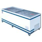 (メーカーより)直送保証:メーカー保証付 高さ757mm送料:無料 ダイレイジャンボ無風冷凍ショーケース型式:GTX-77e寸法:幅2119mm 奥行819mm