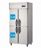 ダイワ・大和インバータ制御タテ型冷凍冷蔵庫《エコ蔵くん》型式:311YS2-EC寸法:幅900mm 奥行650mm 高さ1905mm送料:無料 (メーカーより直送)保証:メーカー保証付受注生産品