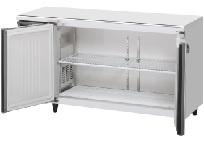 ホシザキ・星崎ヨコ型冷蔵庫型式:RT-150MNCG-ML(旧RT-150MNF-ML)寸法:幅1500mm 奥行600mm 高さ800mm送料:無料 (メーカーより直送)保証:メーカー保証付特記事項:センターピラーレス、受注生産品