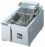 ニチワ電気フライヤー(卓上タイプ)型式:TEF-13-4寸法:幅380mm 奥行600mm 高さ300mm送料:無料 (メーカーより)直送保証:メーカー保証付