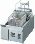 ニチワ電気フライヤー(卓上タイプ、オートリフト式)型式:TEF-13-4-1LN寸法:幅380mm 奥行650mm 高さ300mm送料:無料 (メーカーより)直送保証:メーカー保証付