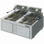 ニチワ電気フライヤー(卓上タイプ)型式:TEF-10-5W-D寸法:幅600mm 奥行600mm 高さ250mm送料:無料 (メーカーより)直送保証:メーカー保証付