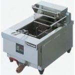 ニチワ電気フライヤー(ヒータースイングアップ方式)型式:MTEF-3D寸法:幅330mm 奥行500mm 高さ250mm送料:無料 (メーカーより)直送保証:メーカー保証付