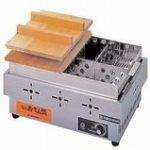 ニチワ電気おでん鍋(6ツ切タイプ、サーモスタット)型式:EOK-6N2寸法:幅485mm 奥行335mm 高さ180mm送料:無料 (メーカーより)直送保証:メーカー保証付