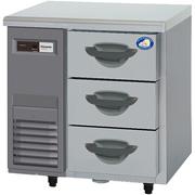 高さ800mm送料:無料 奥行600mm (メーカーより)直送保証:メーカー保証付 パナソニック(旧サンヨー)3段ドロワータイプ冷蔵庫《インバーター》型式:SUR-DK761-3寸法:幅735mm