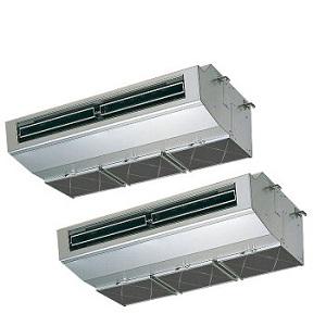 MITSUBISHI・ミツビシ三菱スリムZR 厨房用天吊形《同時ツイン》型式:PCZX-ZRP280HV電源:三相200Vサイズ:10馬力相当送料:無料 (メーカーより)直送保証:メーカー保証付