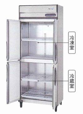 フクシマ・福島タテ型冷凍冷蔵庫型式:URD-081PM6-F寸法:幅755mm 奥行800mm 高さ1950mm送料:無料 (メーカーより直送)保証:メーカー保証付受注生産品