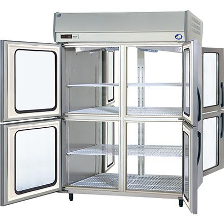 パナソニック(旧サンヨー)パススルータイプ冷蔵庫型式:SRR-KP1583D(旧SRR-JP1583VD)寸法:幅1460mm 奥行850mm 高さ1950mm送料:無料 (メーカーより)直送保証:メーカー保証付受注生産品、納期約2週間