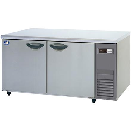 パナソニック(旧サンヨー)ヨコ型インバーター冷蔵庫型式:SUR-K1571SA-R寸法:幅1500mm 奥行750mm 高さ800mm送料:無料 (メーカーより)直送保証:メーカー保証付機械室右タイプ