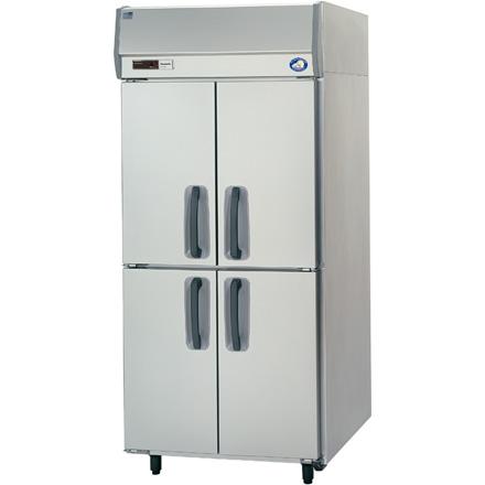 パナソニック(旧サンヨー)インバータータテ型冷蔵庫型式:SRR-K981S寸法:幅900mm 奥行800mm 高さ1950mm送料:無料 (メーカーより)直送保証:メーカー保証付