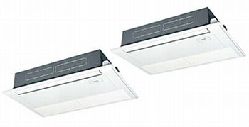 パナソニック(旧サンヨー)PanasonicHシリーズ  1方向天井カセット形《省エネ》同時ツインタイプ型式:PA-P140D6HDN電源:三相200Vサイズ:5馬力相当送料:無料 (メーカーより)直送保証:メーカー保証付
