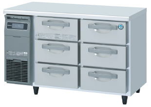 ホシザキ・星崎ドロワータイプ冷蔵庫型式:RT-120DNCG(旧RT-120DNF)寸法:1200m 奥行600mm 高さ800mm送料:無料 (メーカーより)直送保証:メーカー保証付
