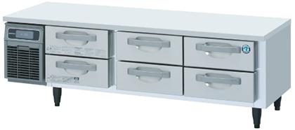ホシザキ・星崎ドロワータイプ冷蔵庫型式:RTL-165DDCG(旧RTL-165DDF)寸法:幅1650m 奥行750mm 高さ570mm送料:無料 (メーカーより)直送保証:メーカー保証付