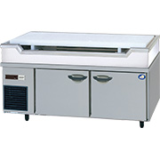 パナソニック(旧サンヨー)舟形シンク付冷蔵庫型式:SUR-GL1561SB-S(旧SUR-GL1561SA-S)寸法:幅1500mm 奥行600mm 高さ800mm送料:無料 (メーカーより)直送保証:メーカー保証付