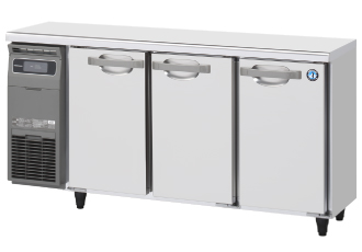 ホシザキ・星崎横型冷蔵庫型式:RT-150MTCG(旧RT-150MTF)寸法:幅1500mm 奥行450mm 高さ800mm送料:無料 (メーカーより直送)保証:メーカー保証付