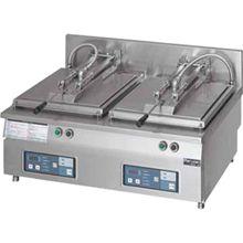 マルゼン電気自動餃子焼器(フタ固定)型式:MAZE-66寸法:幅820mm 奥行600mm 高さ285mm バックガード150mm送料:無料 (メーカーより)直送保証:メーカー保証付