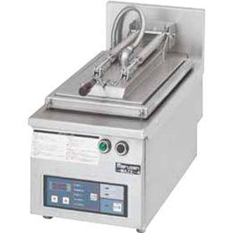マルゼン電気自動餃子焼器(フタ固定)型式:MAZE-4寸法:幅300mm 奥行600mm 高さ285mm バックガード150mm送料:無料 (メーカーより)直送保証:メーカー保証付