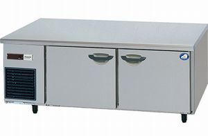 パナソニック(旧サンヨー)低横型冷蔵庫型式:SUR-GL1561SB(旧SUR-GL1561SA)寸法:幅1500mm 奥行600mm 高さ600mm送料:無料 (メーカーより)直送保証:メーカー保証付