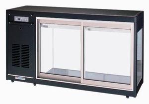 オオホ・大穂冷蔵ショーケース(卓上タイプ)型式:OHS-PFb-1200L(R)寸法:幅1200mm 奥行400mm 高さ665mm送料:無料 (メーカーより)直送保証:メーカー保証付