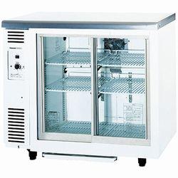 パナソニック(旧サンヨー)冷蔵テーブル型ショーケース型式:SMR-V941C(旧SMR-V941NB)寸法:幅900mm 奥行450mm 高さ800mm送料:無料 (メーカーより)直送保証:メーカー保証付