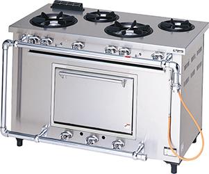 マルゼンデラックスタイプガスレンジ(トップ排気)型式:MGRD-126D寸法:幅1200mm 奥行600mm 高さ800mm送料:無料 (メーカーより)直送保証:メーカー保証付