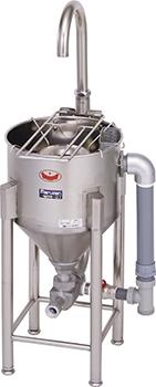 マルゼンドラフト式水圧洗米機型式:MRW-D7寸法:幅400mm 奥行435mm 高さ660mm(全高1010mm)送料:無料 (メーカーより)直送保証:メーカー保証付洗米能力:7kg/1回