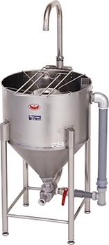 マルゼンドラフト式水圧洗米機型式:MRW-D28寸法:幅560mm 奥行585mm 高さ800mm(全高1200mm)送料:無料 (メーカーより)直送保証:メーカー保証付洗米能力:28kg/1回
