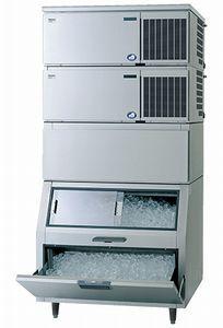 パナソニック(旧サンヨー)キューブアイス製氷機《スタックオンタイプ》型式:SIM-S481NB-HFB3寸法:幅1087mm 奥行862mm 高さ2274mm送料:無料 (メーカーより直送)保証:メーカー保証付日産製氷能力480kg