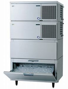 パナソニック(旧サンヨー)キューブアイス製氷機《スタックオンタイプ》型式:SIM-S481NB-HB3寸法:幅1087mm 奥行741mm 高さ1924mm送料:無料 (メーカーより直送)保証:メーカー保証付日産製氷能力480kg