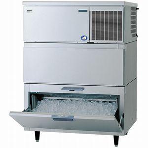 パナソニック(旧サンヨー)キューブアイス製氷機《スタックオンタイプ》型式:SIM-S241NB-HB3寸法:幅1087mm 奥行741mm 高さ1514mm送料:無料 (メーカーより直送)保証:メーカー保証付日産製氷能力240kg