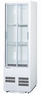 パナソニック(旧サンヨー)冷蔵小型ショーケース型式:SMR-S75C(旧SMR-S75B)寸法:幅460mm 奥行450mm 高さ1517mm送料:無料 (メーカーより)直送保証:メーカー保証付