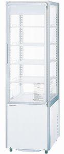 パナソニック(旧サンヨー)冷蔵四面ガラスショーケース型式:SSR-DXZ170(旧SSR-DX170N)寸法:幅430mm 奥行440+(20)mm 高さ1430mm送料:無料 (メーカーより)直送保証:メーカー保証付